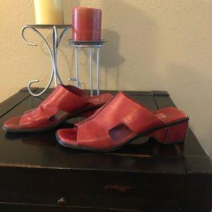 Cole Haan sandals.